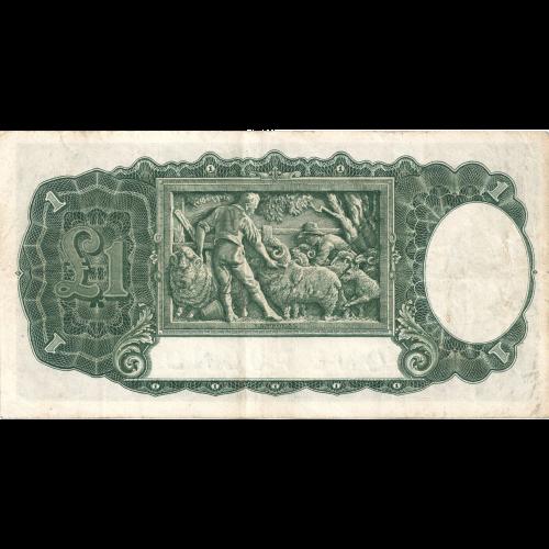 One Pound Sheehan McFarlane Australian Banknote