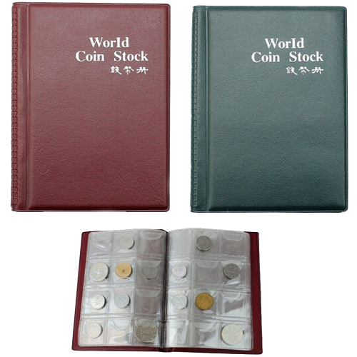 Pack Of 2 120 Coin Pockets Collection