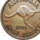 Scarce 1939 Australian Halfpenny