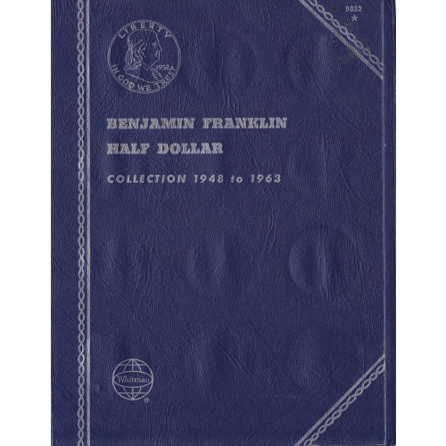 BENJAMIN FRANKLIN HALF DOLLAR ALBUM