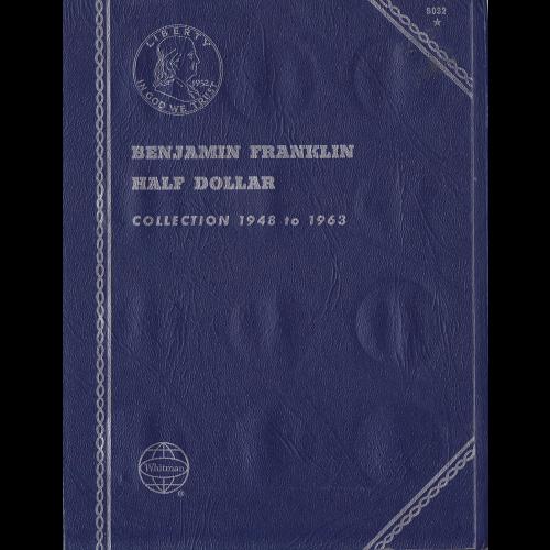 BENJAMIN FRANKLIN HALF DOLLAR ALBUM