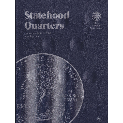 STATEHOOD QUARTER WHITMAN TRIFOLD