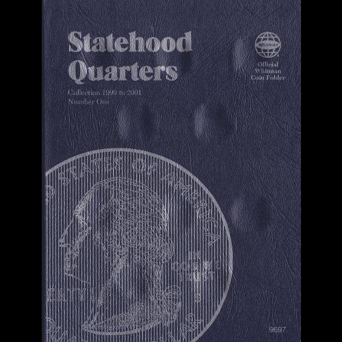 STATEHOOD QUARTER WHITMAN TRIFOLD